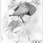 """Illustration  """"Glamour Girl"""" Ukraine"""