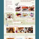 """Die Gestaltung der Homepage für das Restaurant """"Shantimel"""""""
